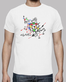 rubik cube black outline