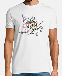 Rubik cube black scheme