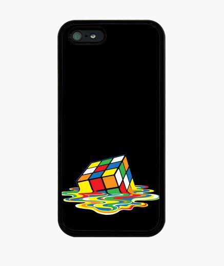 Coque iPhone rubik cube de geek