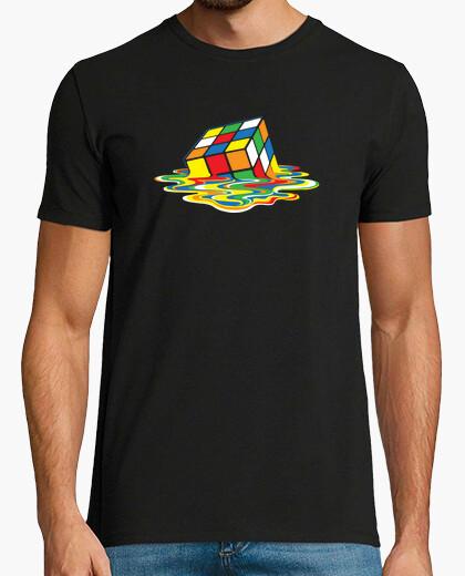 T-shirt rubik cube geek