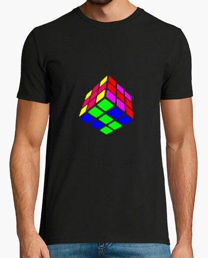 Camiseta Rubik cubo