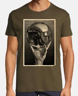Rubik Escher  camisetas frikis