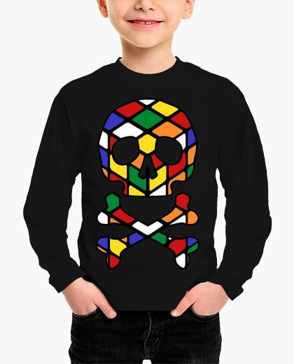 Rubik skull children's clothes