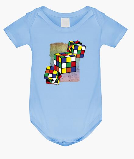 Kinderbekleidung rubiks cube - textur hintergrund