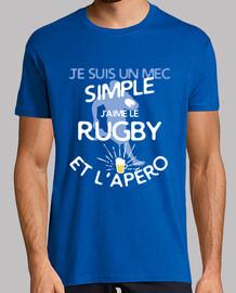Rugby - un mec simple