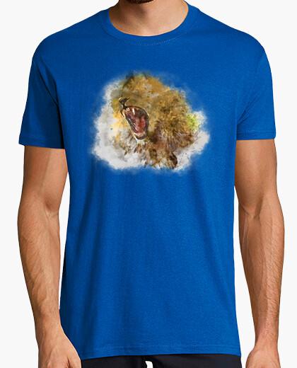 Camiseta Rugido Acuarela