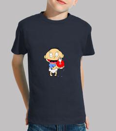 Rugrats, Niño, manga corta, azul marino