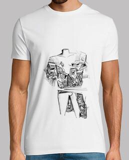ruinen m / t-shirt
