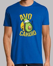 runner avocado t-shirt