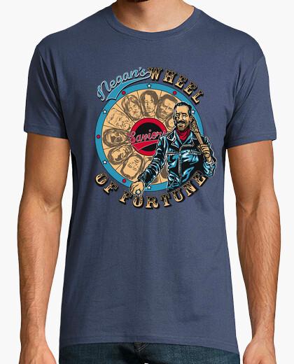 T-shirt ruota della fortuna