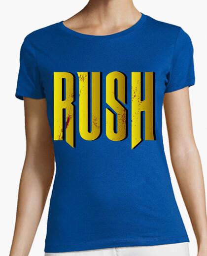 Camiseta Rush Golden ensangrentado
