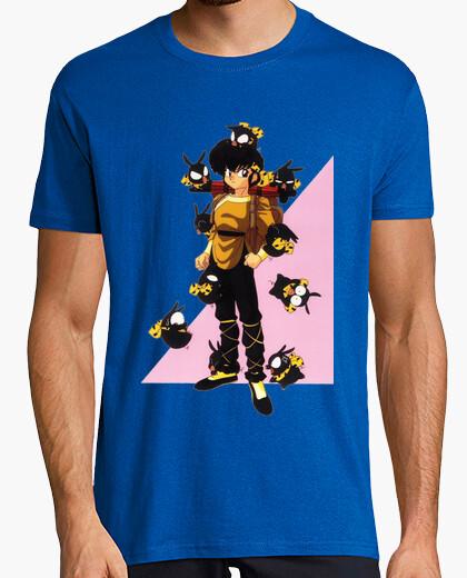 Camiseta Ryoga P-Chans-Bacunets (B) (Chico Amarillo)