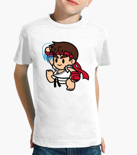 Vêtements enfant ryu shirt enfant mignon