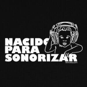 T-shirt S008_NACIDO_SONORIZAR