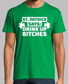 S t. patrick dice beber perras