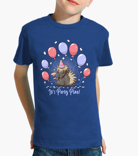 Vêtements enfant sa fête pin - fête porc-épic - chemise enfants