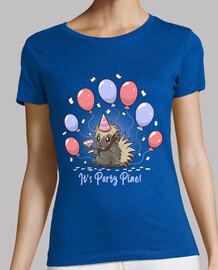 sa fête pin - fête porc-épic - chemise femme