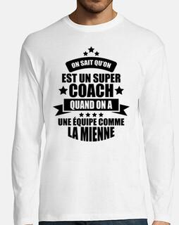 Sabemos que somos un gran entrenador