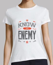 saber su mujer enemiga camiseta