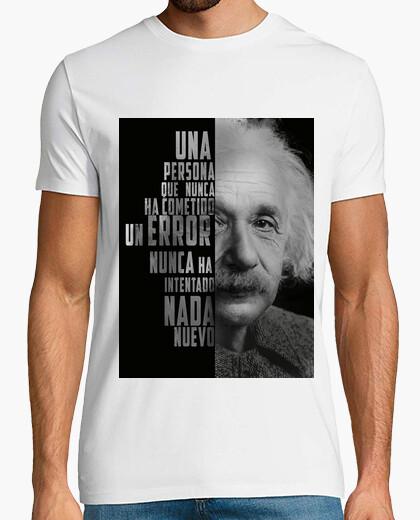 Camiseta sabiduria de Albert Einstein