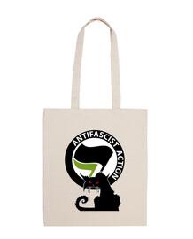Sac - Cat Antifa International Green