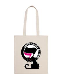 Sac - Cat Antifa International Pink