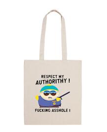 Sac 10 Litres - Cartman Respect My Authorithy