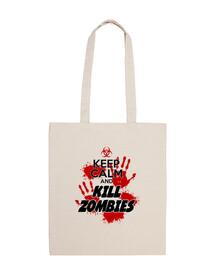 Sac 10 Litres - Keep Calm and Kill Zombies - 2