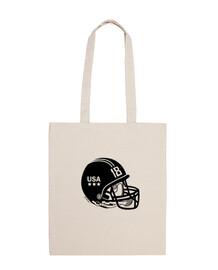 sac à livres noir quarterback