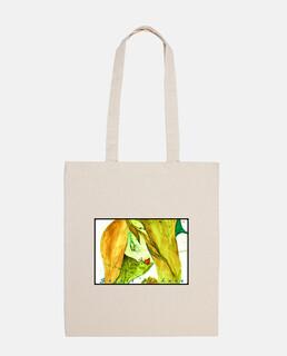 sac bandoulière en tissu -Douceur d'une femme