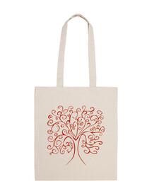 sac coloré de l'arbre de vie