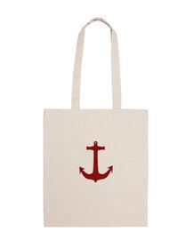 sac d'ancrage rouge