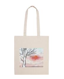 sac d'arbre d'hiver manche court