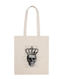 sac de  tête de mort  royale