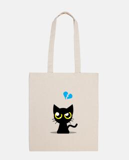 sac de chat en colère