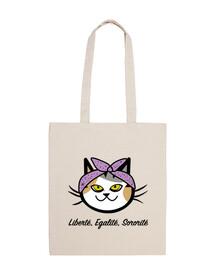 sac de chat travailleur