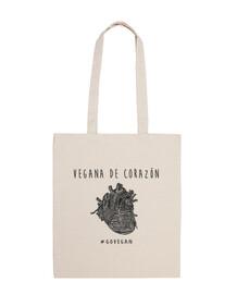 sac de coeur végétalien