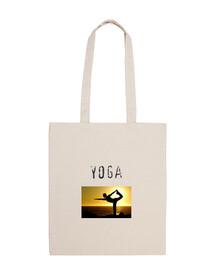 sac de montagne pose de yoga
