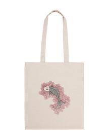 sac de poissons rouges