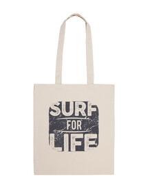 sac de surf rétro surfeurs vintage