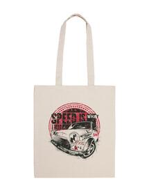 sac de voitures course rétro