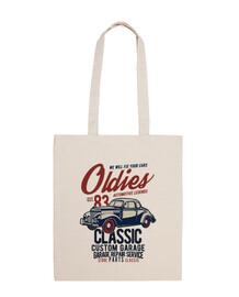 sac de voitures rétro vintage 1983