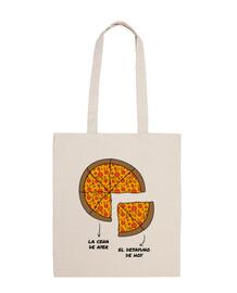 sac déjeuner pizza