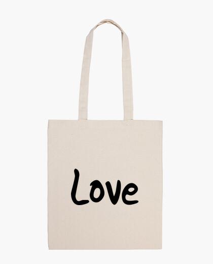"Sac en tissu 100 coton ""Love"""