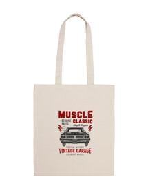 sac en tissu durable voiture antique