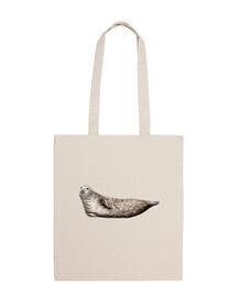 sac en tissu gris d'étanchéité