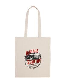 sac en tissu voiture vintage