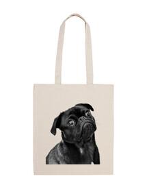 sac fourre-tout carlino pug dog design