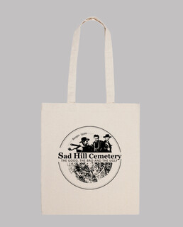 sac logo 100% coton sad hill