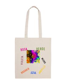 sac multicolore mandala